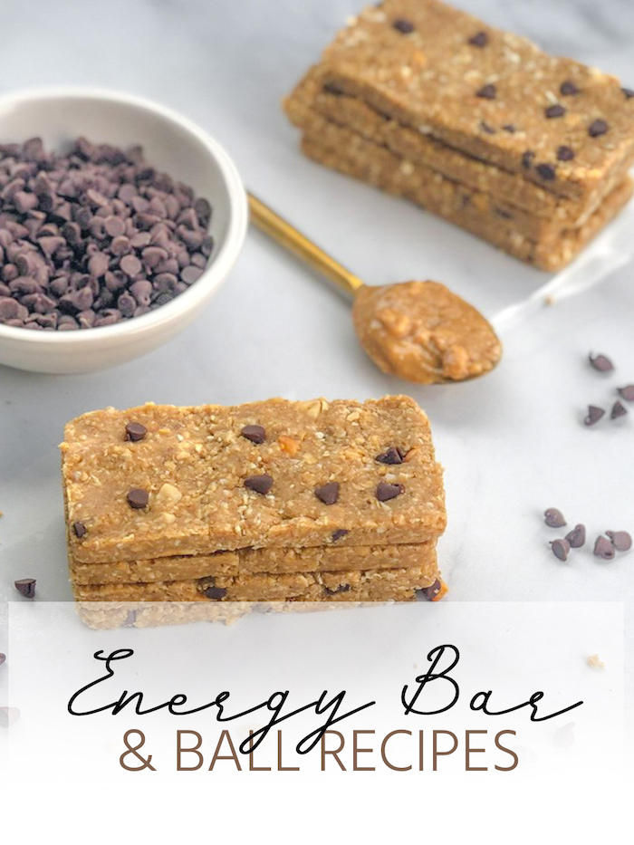 Bars and Energy Ball Recipes