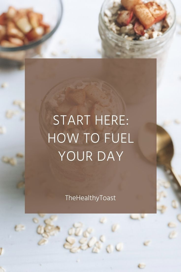 Start here. Learn how to fuel your day.