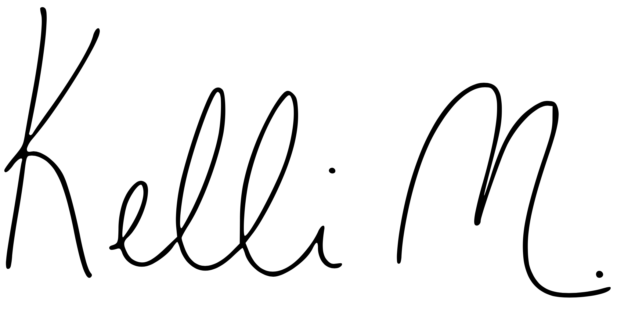 Kelli McGrane Signature