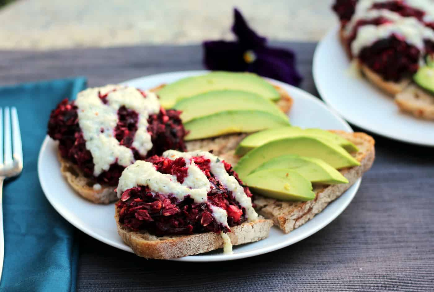 Baked Beet Burgers