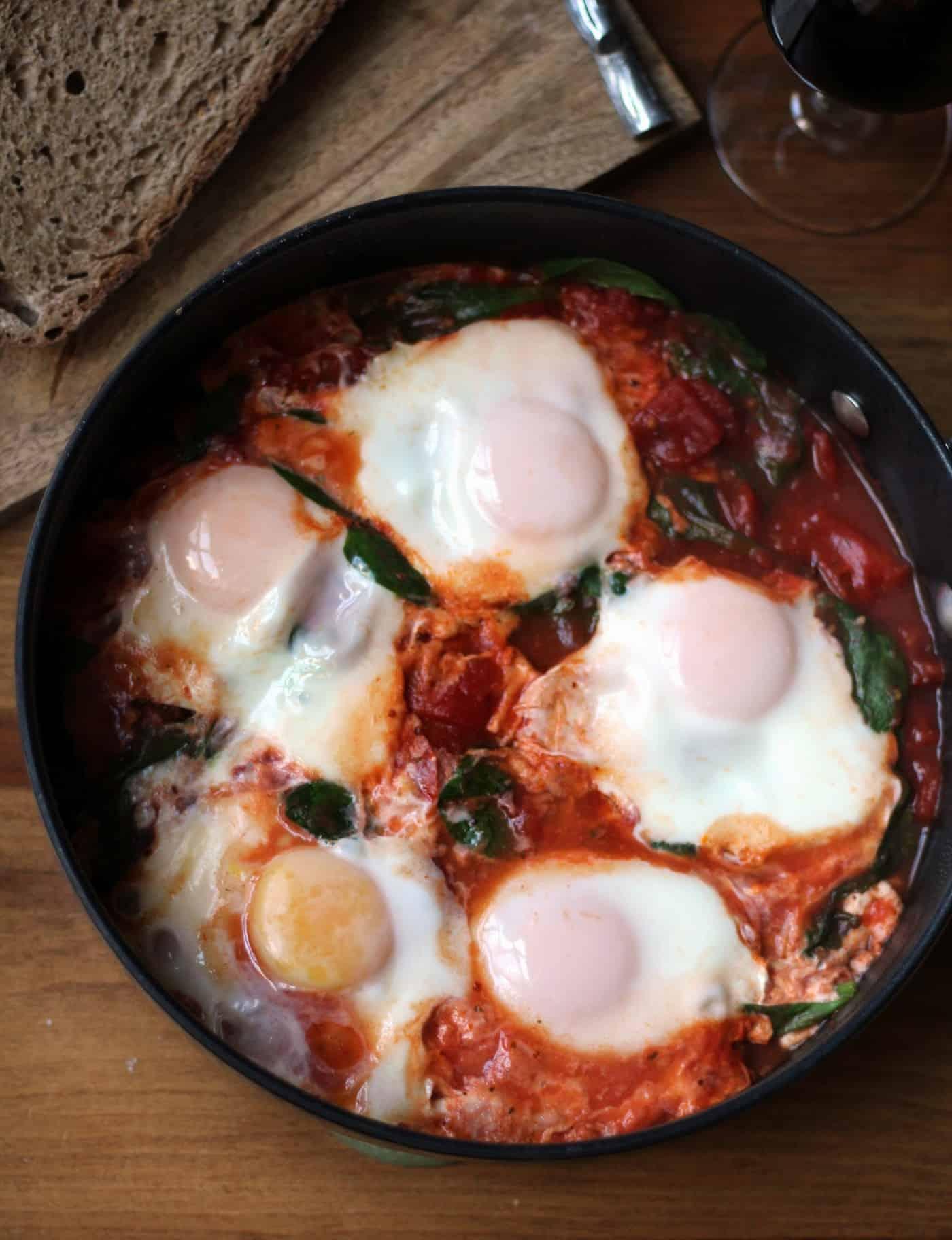 Shakshuka (A.K.A Eggs in Purgatory)