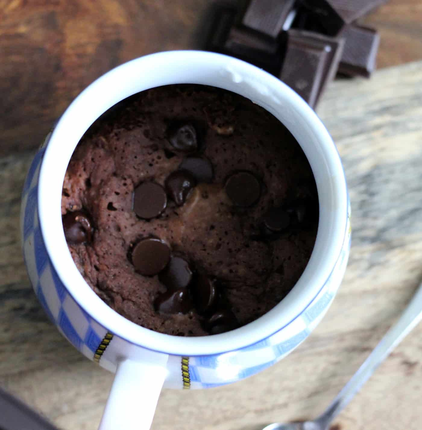 Single-Serving Gooey Chocolate Mug Cake