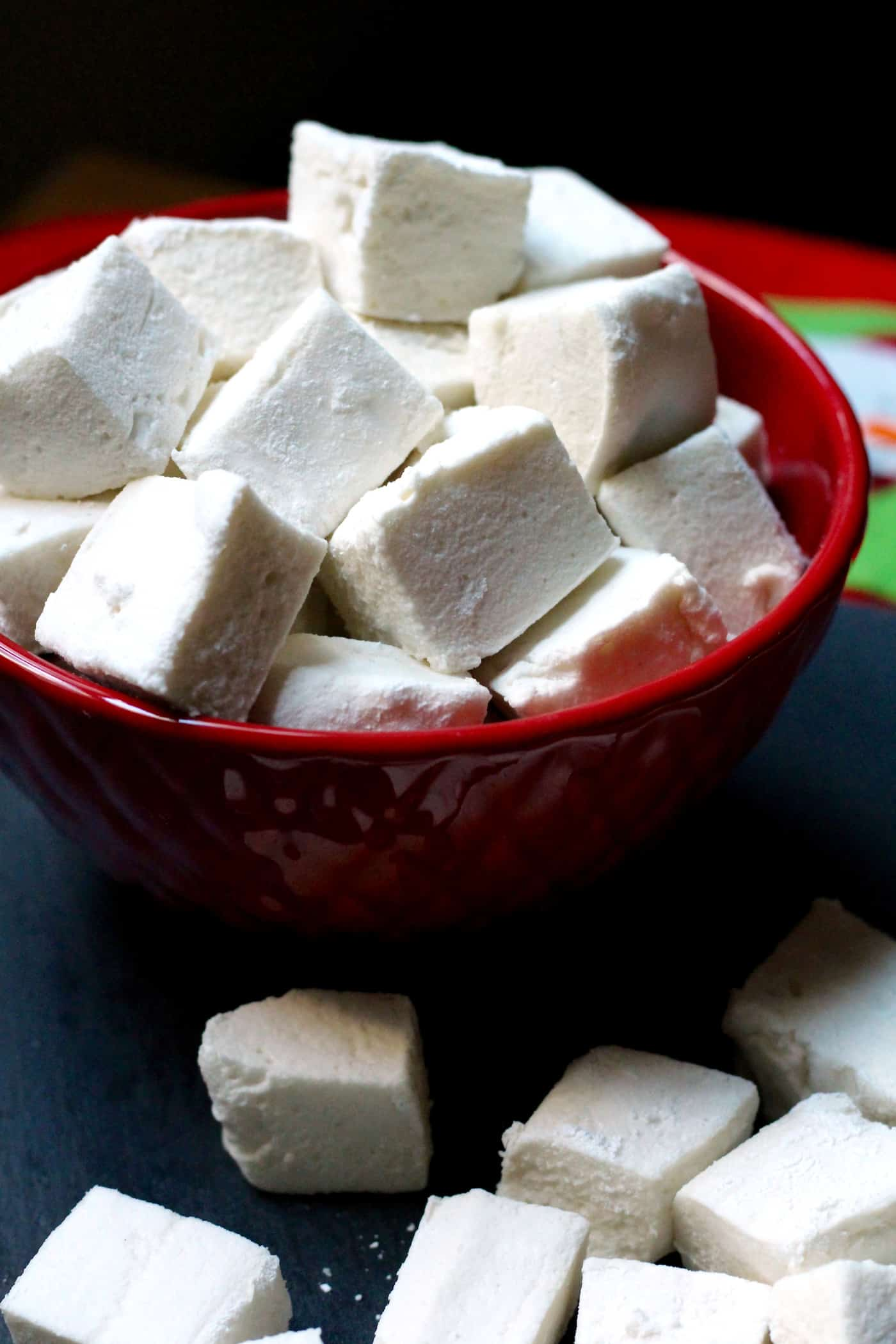 Healthier Homemade Marshmallows
