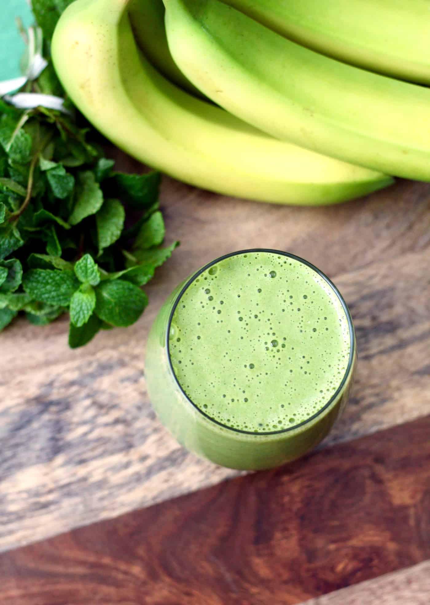 Healthier Shamrock Protein Shake
