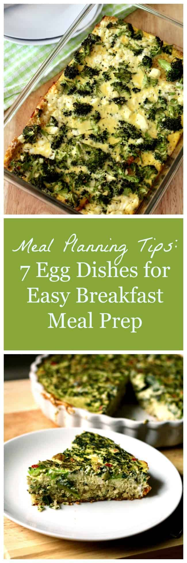 Meal Planning Tips: Egg Dishes for Easy Breakfast Meal Prep
