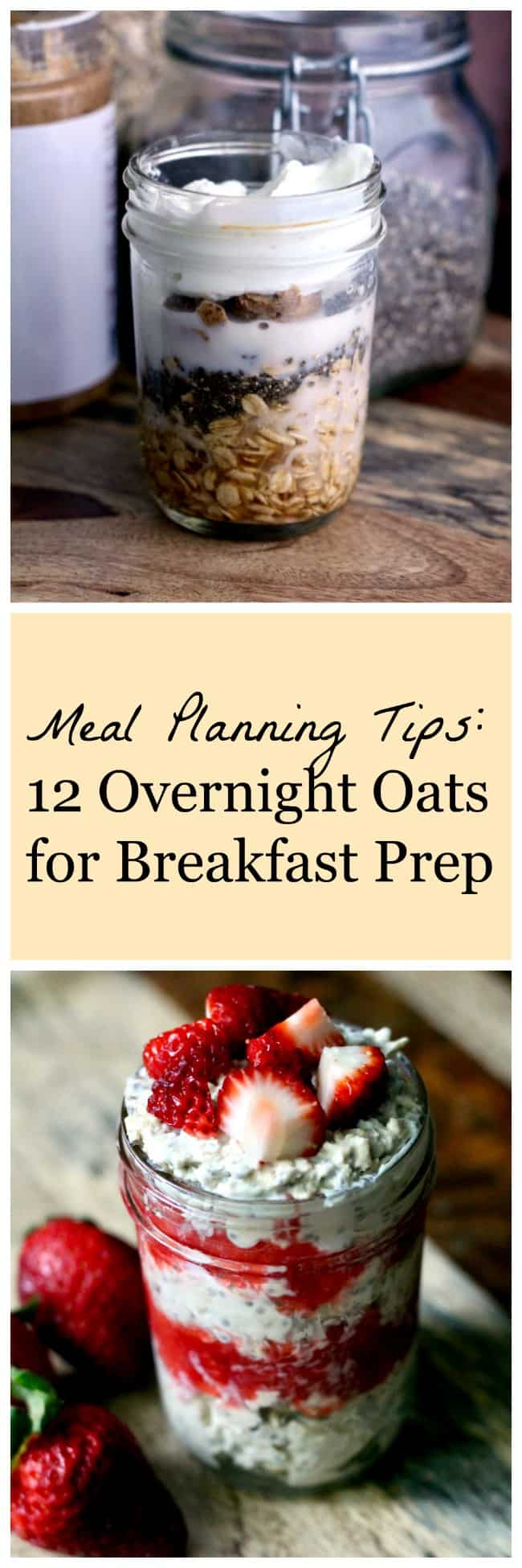 Meal Planning Tips: Overnight Oats for Breakfast Prep