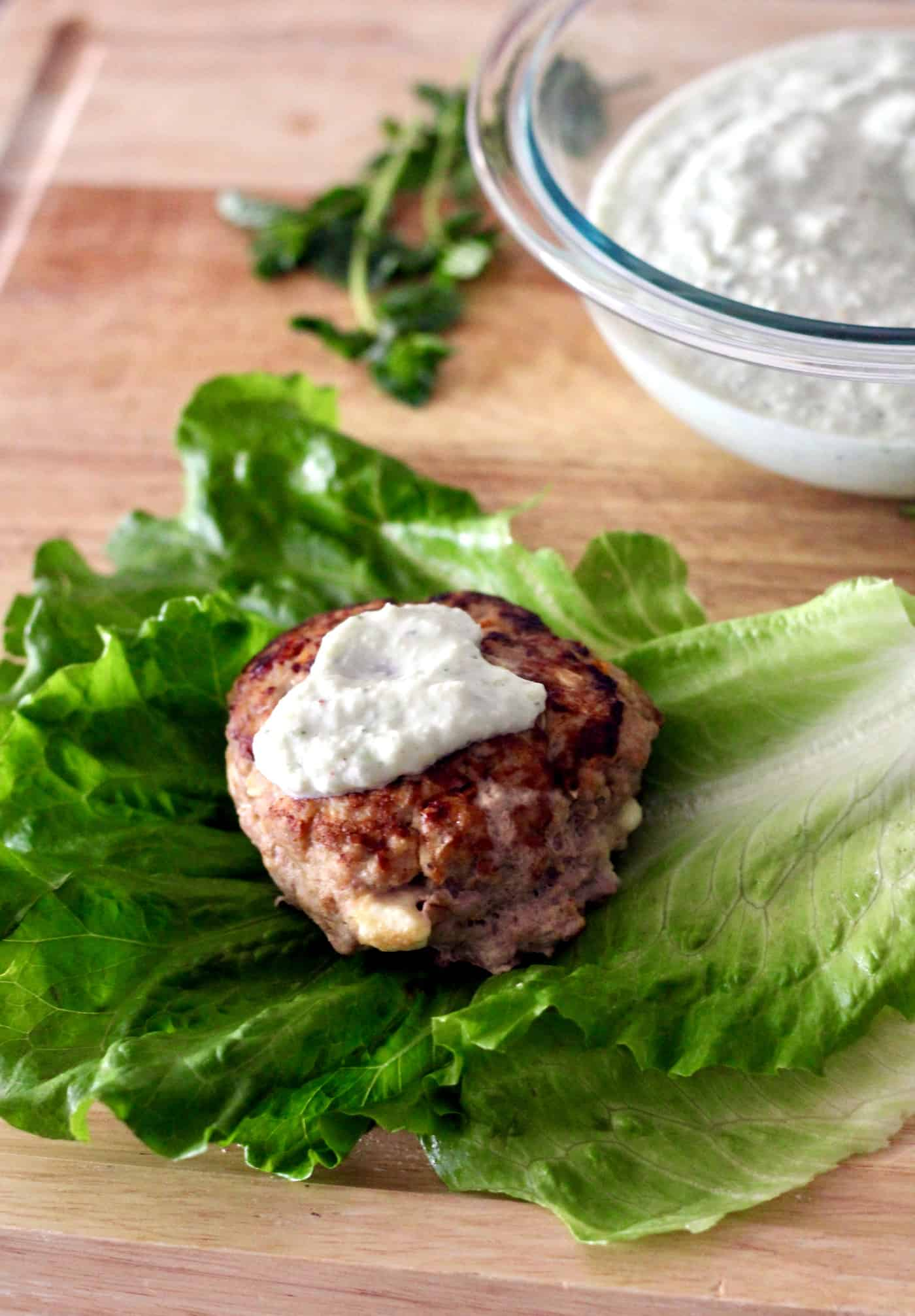 Zesty Greek Turkey Burgers