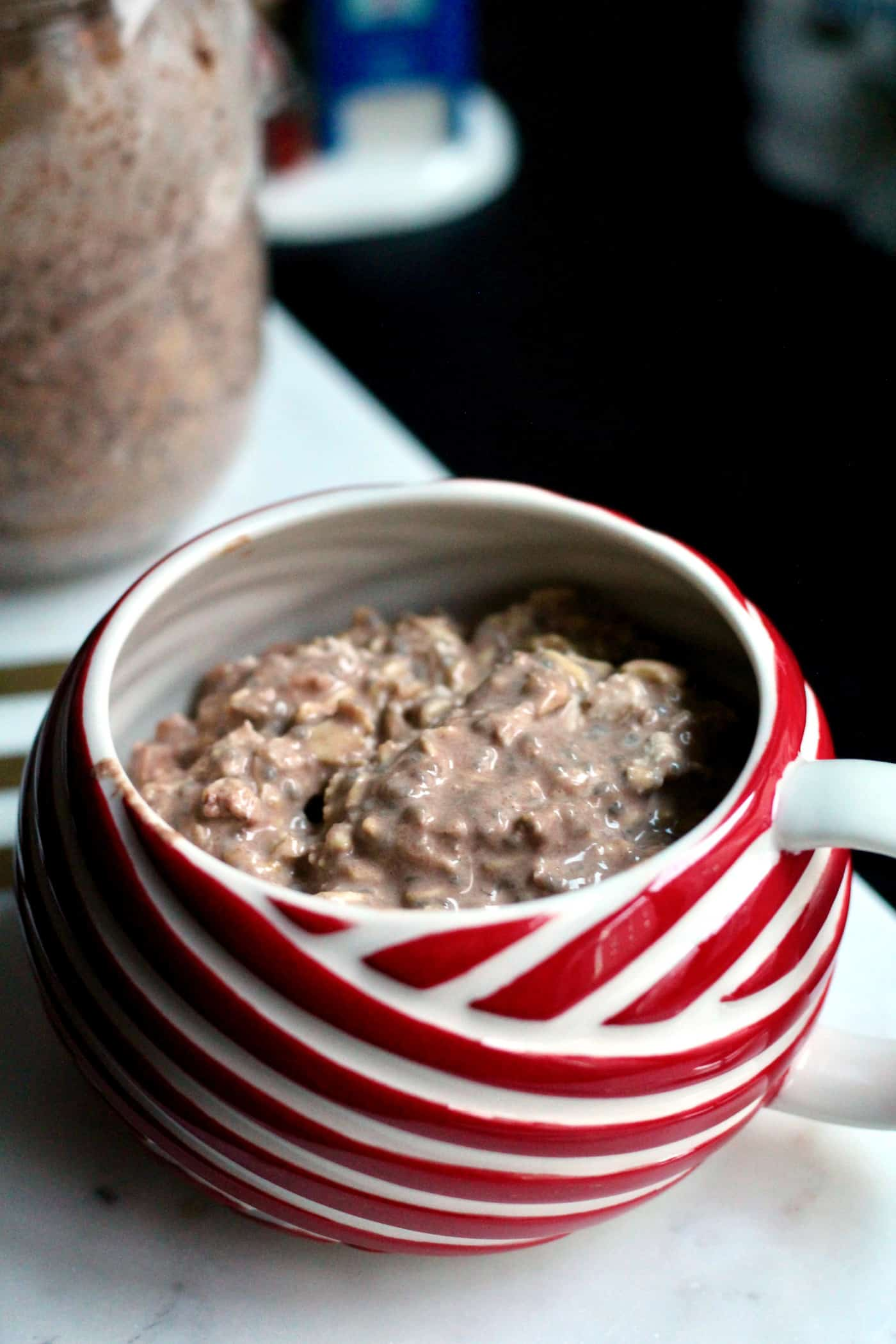 Hot Cocoa Overnight Oats