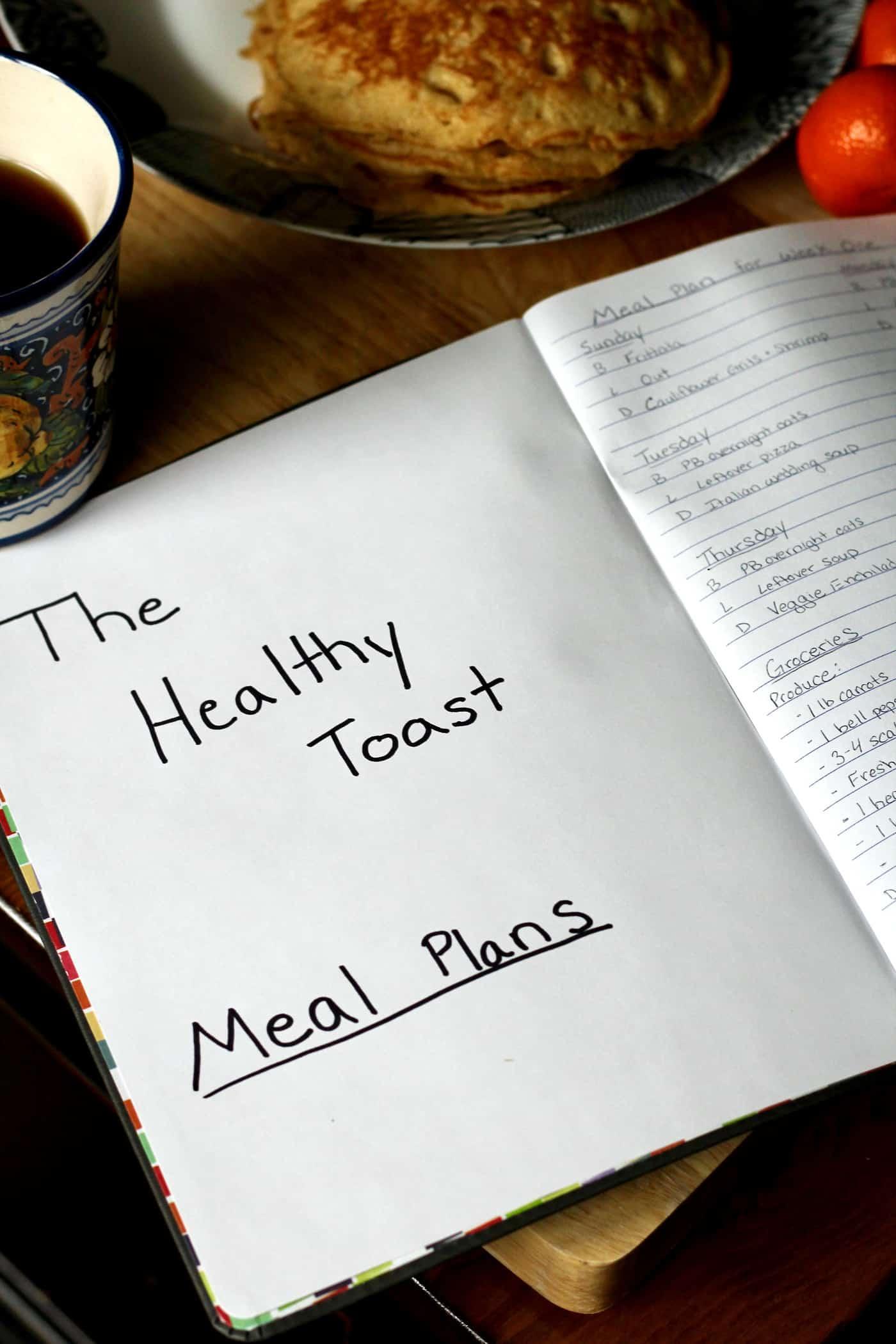 Weekly Meal Plan: Week 23