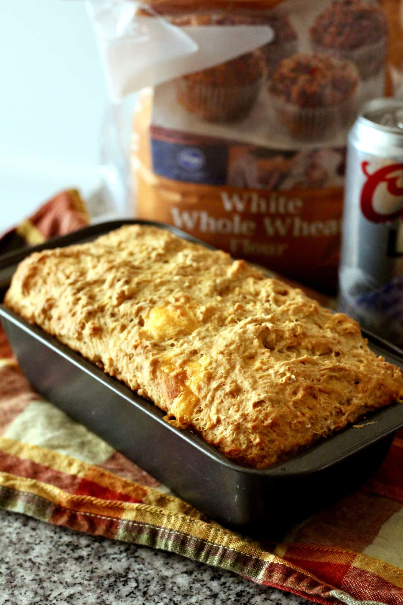 Whole Wheat Beer and Cheese Bread