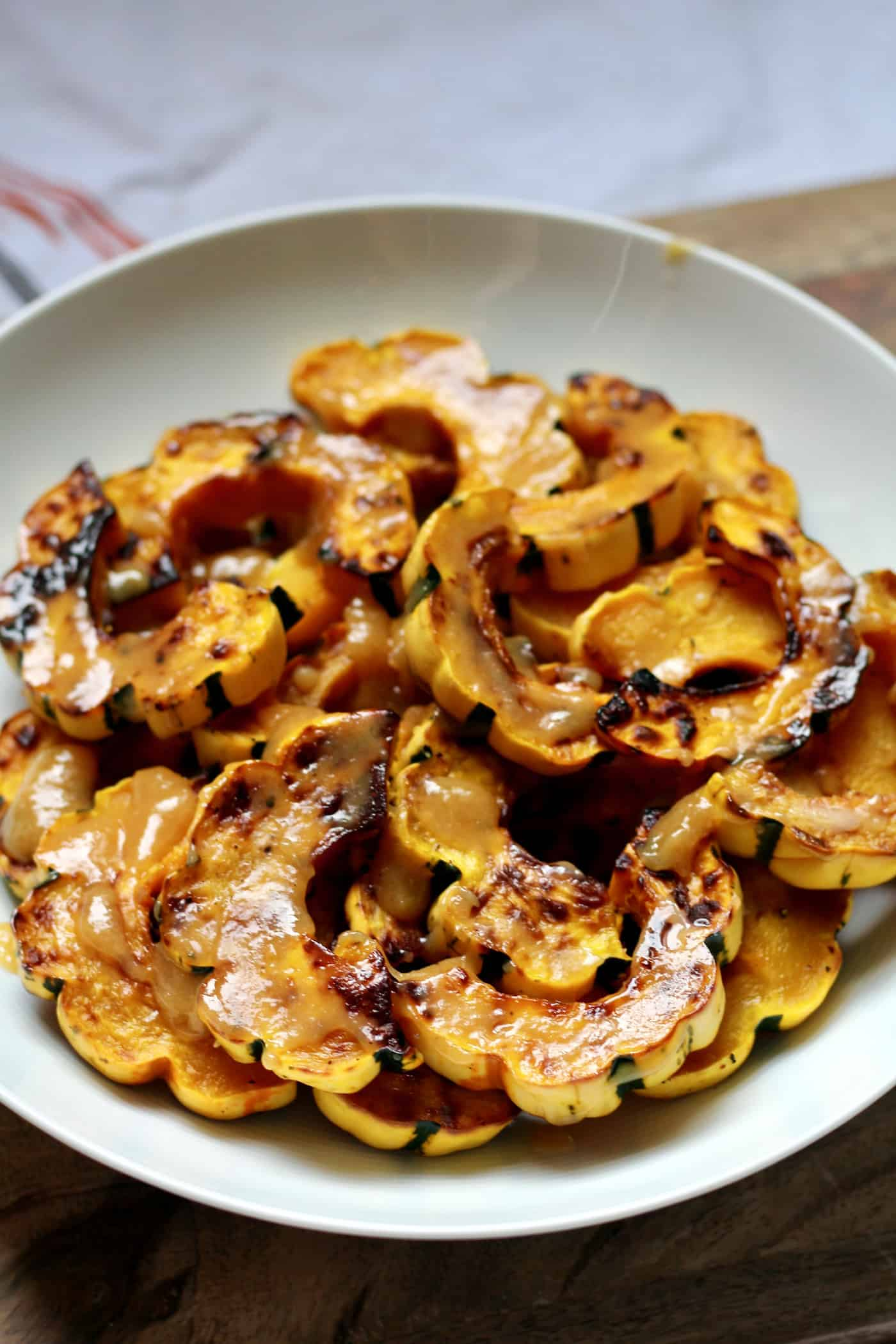 Sweet and Salty Miso Squash