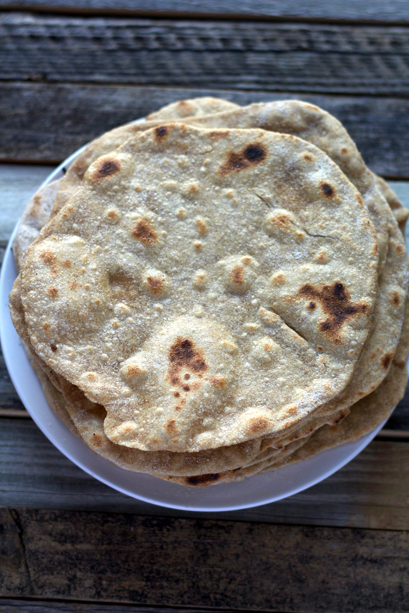 4-Ingredient Homemade Whole Wheat Tortillas