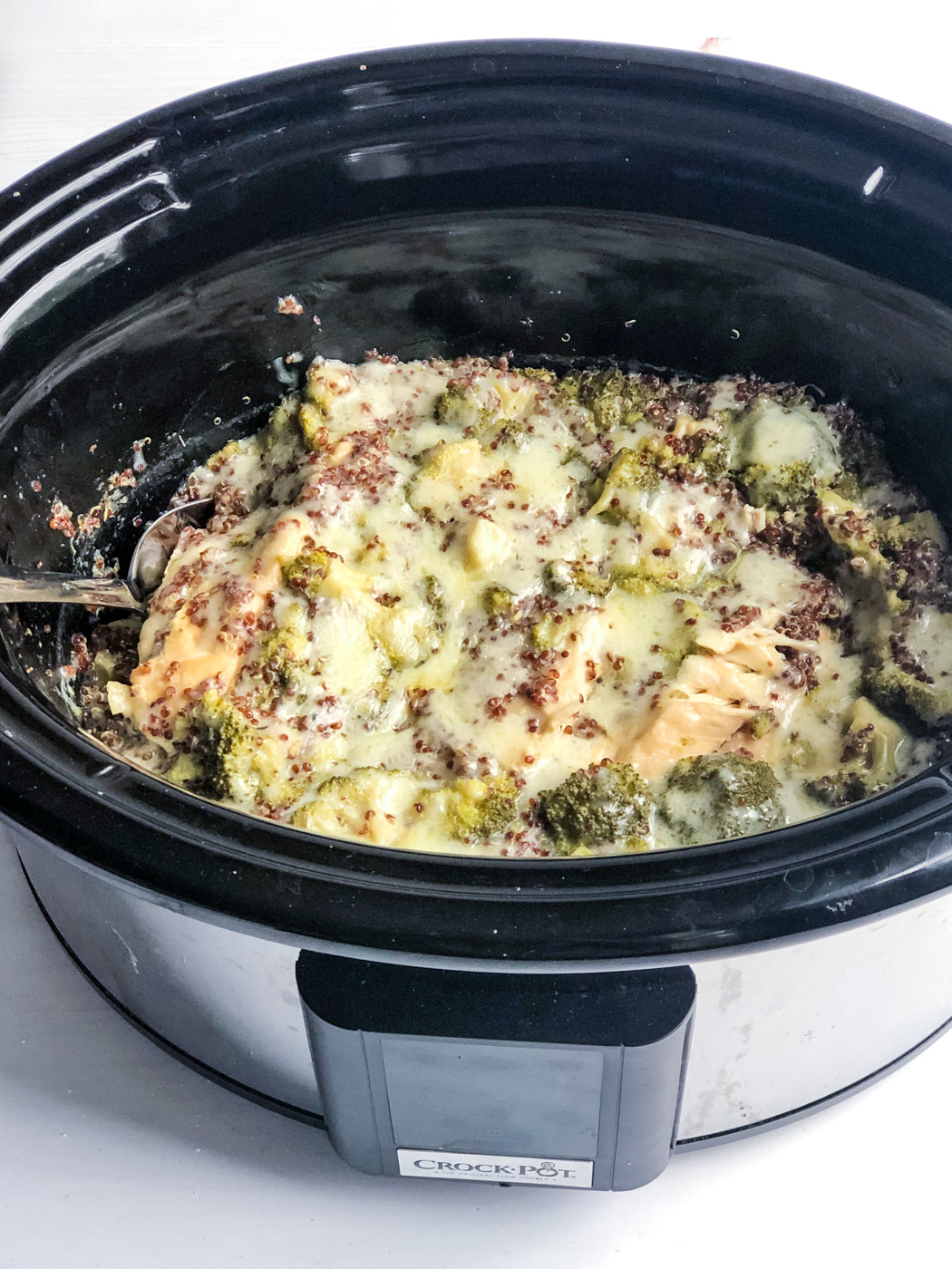 Healthy Slow Cooker Creamy Chicken Casserole Recipe