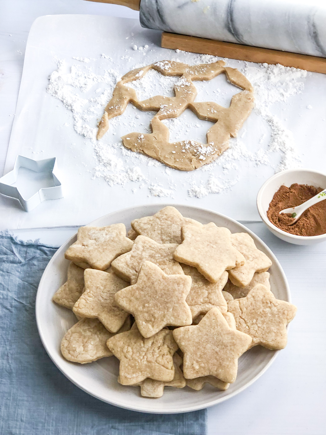 The Best Chai Sugar Cookies